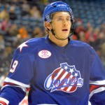 Forgetting about Sabres has helped Amerks star Luke Adam find AHL game again