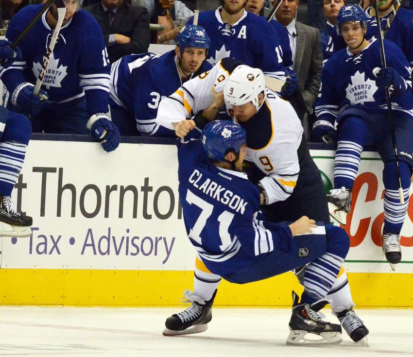 Sabres showcase more compete in loss to Leafs