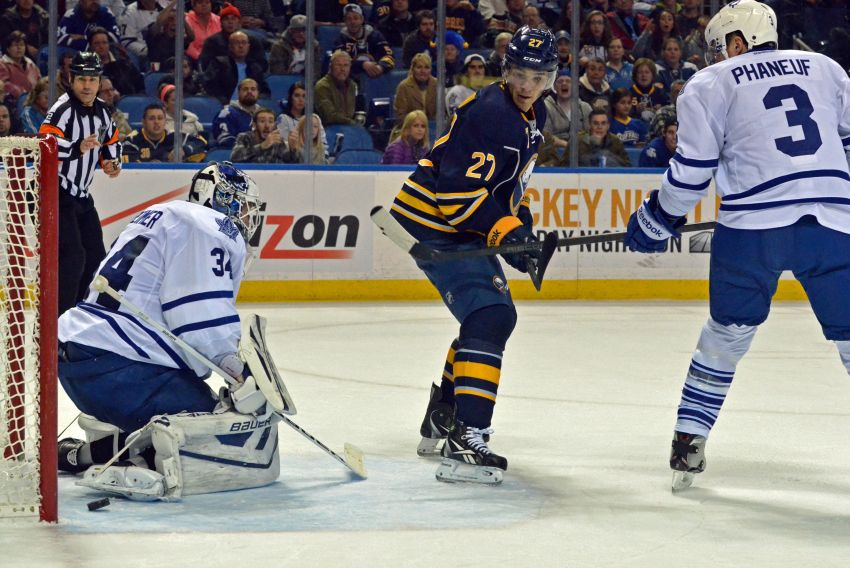 Sabres beat Leafs in overtime, send legions of Toronto fans home unhappy