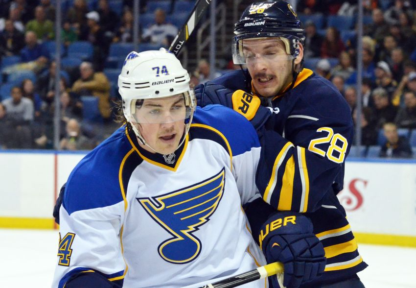 Ted Nolan moving Sabres rookie Zemgus Girgensons back to wing