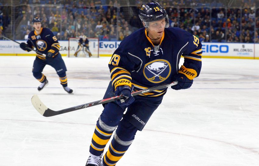 Ron Rolston switches up Sabres' lines, puts captain Steve Ott on top combination