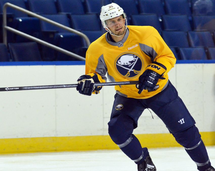 Report: Patrick Kaleta has torn ACL, done for season; Sabres planned recall