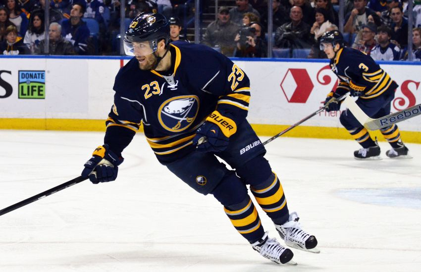 Sabres' Ville Leino feeling good about game