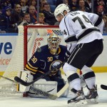 Goalie Ryan Miller dazzles again in shootout victory over Kings, Sabres finally triumph at home