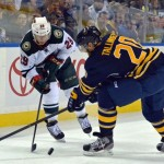 Former Sabres captain Jason Pominville on 50-goal pace with Wild