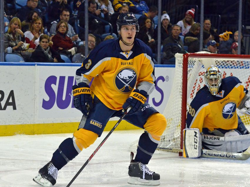 Sabres shuffle lineup before loss to Red Wings; Ted Nolan wants more from Marcus Foligno