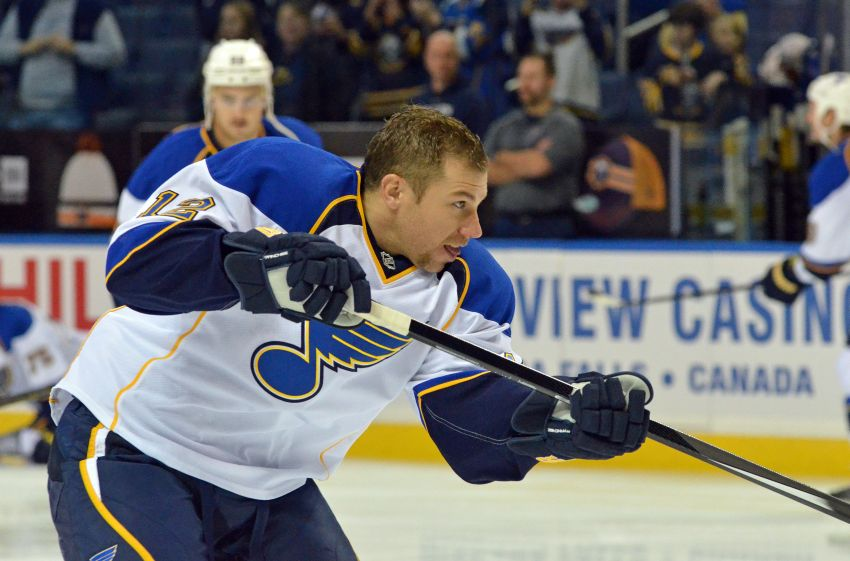 Derek Roy feels he has home with Blues, wanted to stay with Sabres