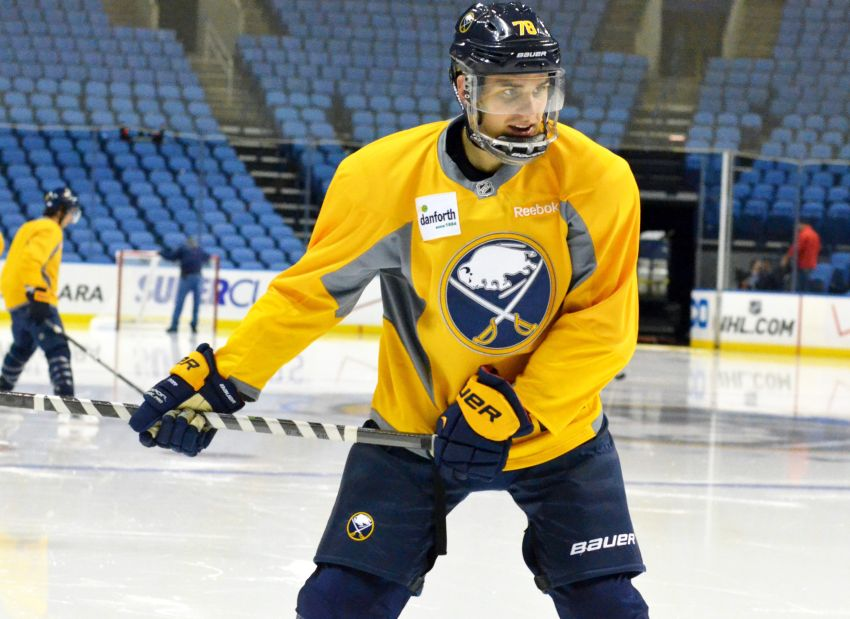 Corey Tropp and Patrick Kaleta ready to return to struggling Sabres; team must make roster move today
