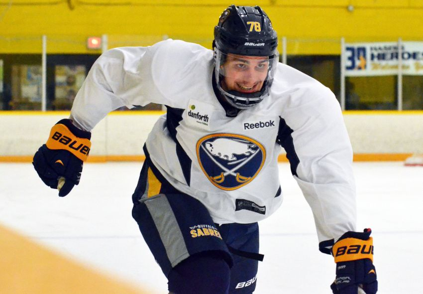 Matt D'Agostini ready for any role with Sabres; Ted Nolan happy Corey Tropp can stay in NHL