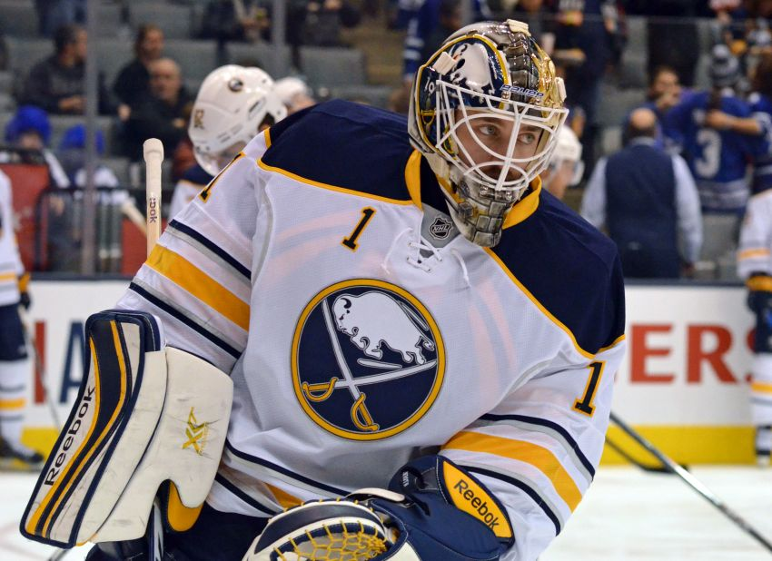 Sabres goalie Jhonas Enroth wants to play more, worries losses are hurting Olympic chances