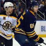 Sabres' Brian Flynn embracing checking role, starting to showcase slick offensive skills