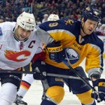 Sabres muster little offense against Flames, fall in OT