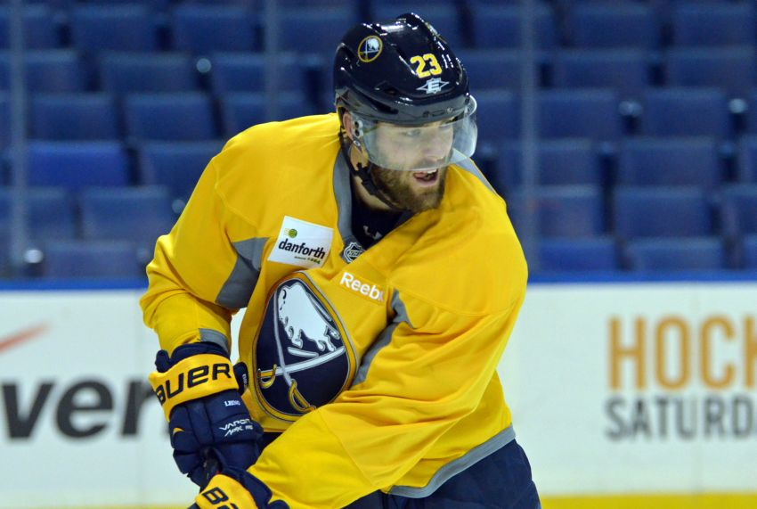 Ted Nolan benches Ville Leino for Sabres' win against Senators, not happy with last outing or practice