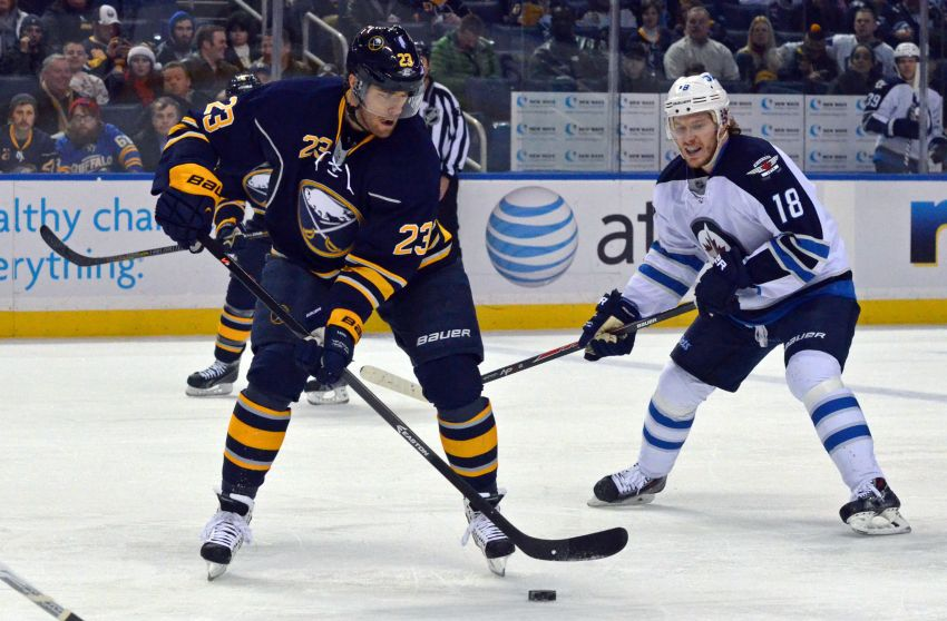 Sabres to use same lineup against Capitals; Kevin Porter 'a little sore'