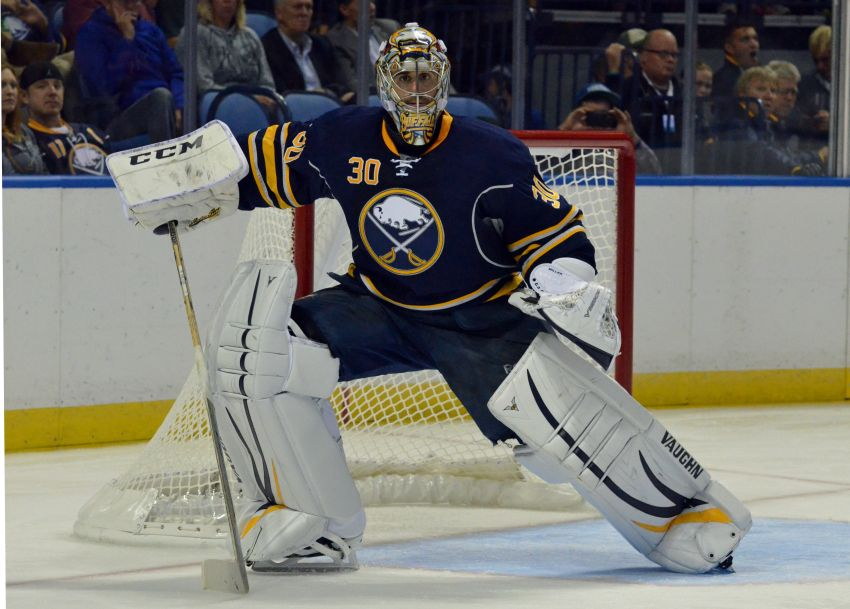 Ted Nolan wants Sabres goalie Ryan Miller to stay; Brayden McNabb assigned to Amerks for single game