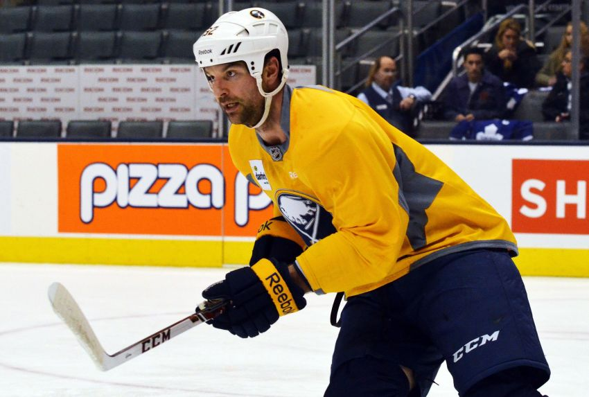 Sabres tough guy John Scott on 200th NHL game: 'I've got a lot of healthy scratches'