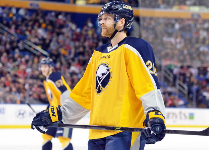 Sabres' Henrik Tallinder out 1-2 weeks with upper body injury
