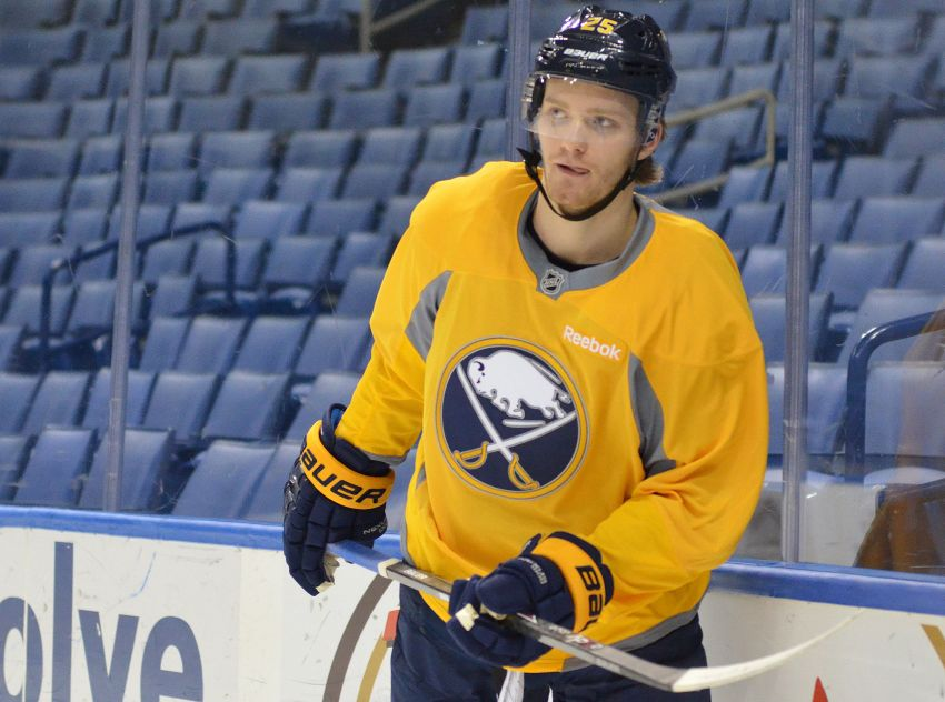 Prospect Mikhail Grigorenko won't report to junior, future with Sabres unclear