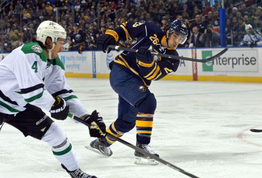 Sabres' Matt Moulson likely out until after Olympic break