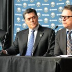 Sabres introduce Tim Murray as new GM, Craig Patrick as advisor