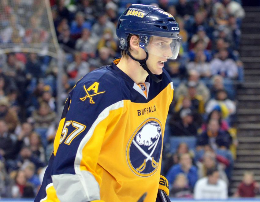 Reports: Sabres' Tyler Myers to have Monday phone hearing for hit to Dainius Zubrus' head