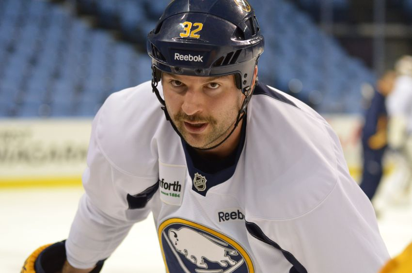 Best Sabres photos of 2013: Big John Scott up close