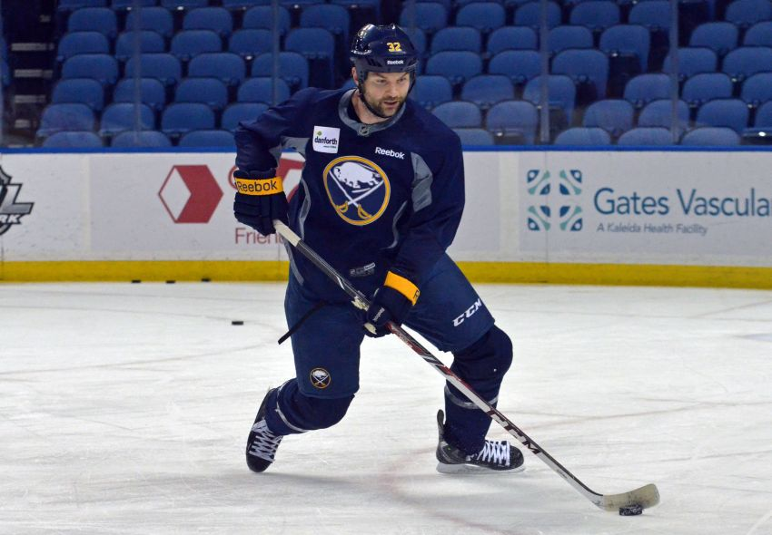 Sabres tough guy John Scott tired of reputation calls: 'I'm always guilty'