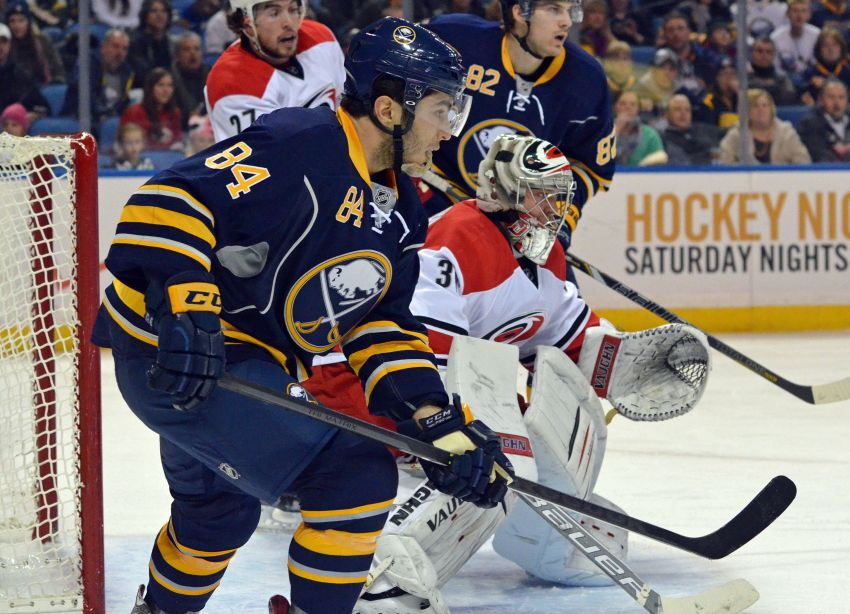 Phil Varone, family emotional over NHL debut; Sabres fall to Hurricanes