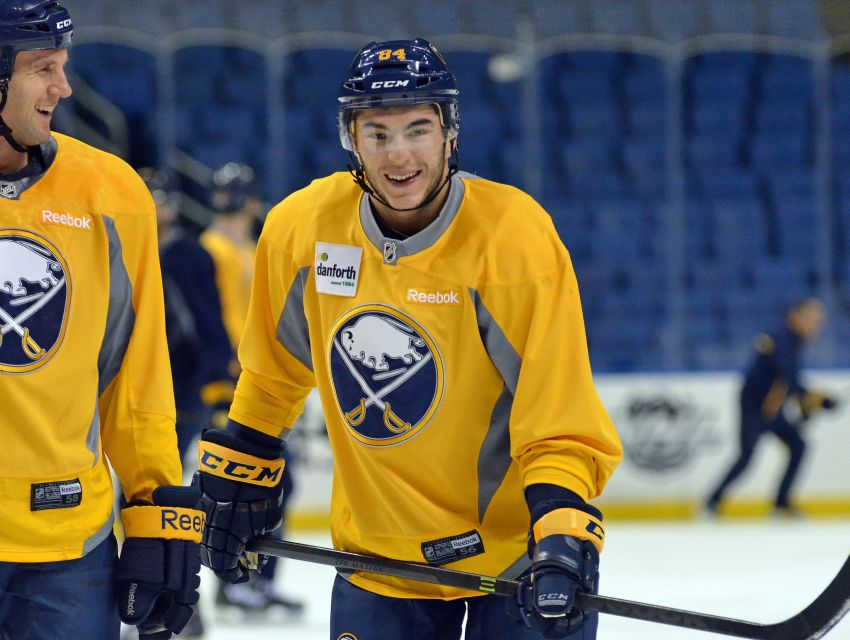 Sabres rookie Phil Varone set for NHL debut, emotional over first recall