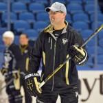 Dan Bylsma: Ryan Miller's play tonight won't influence Olympic goaltending decision