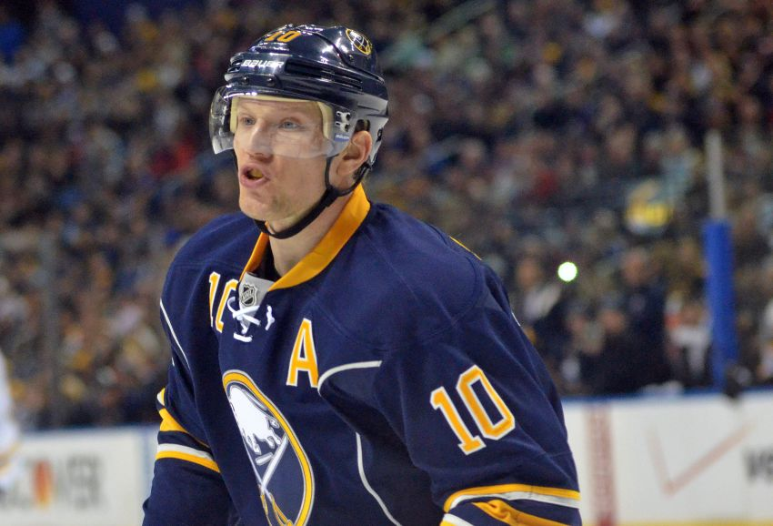 Sabres' Christian Ehrhoff has submitted no-trade list; Tyler Ennis out again