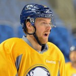 Sabres' Linus Omark looking to break out against Oilers; Jhonas Enroth not focused on Olympics