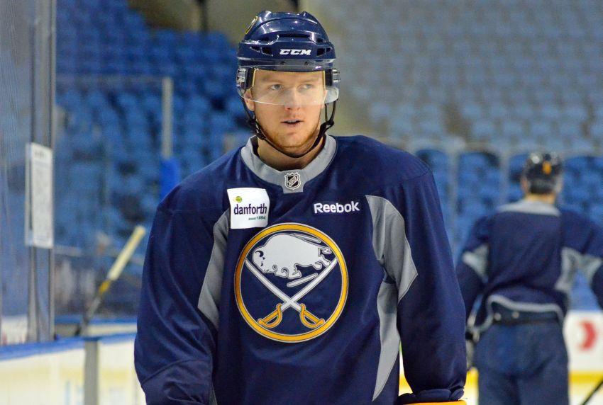 Sabres' Tyler Myers likely out against Penguins