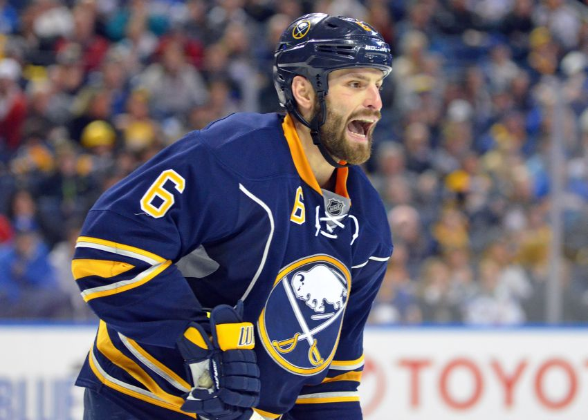 Sabres' Mike Weber confident he's playing well despite NHL-worst rating