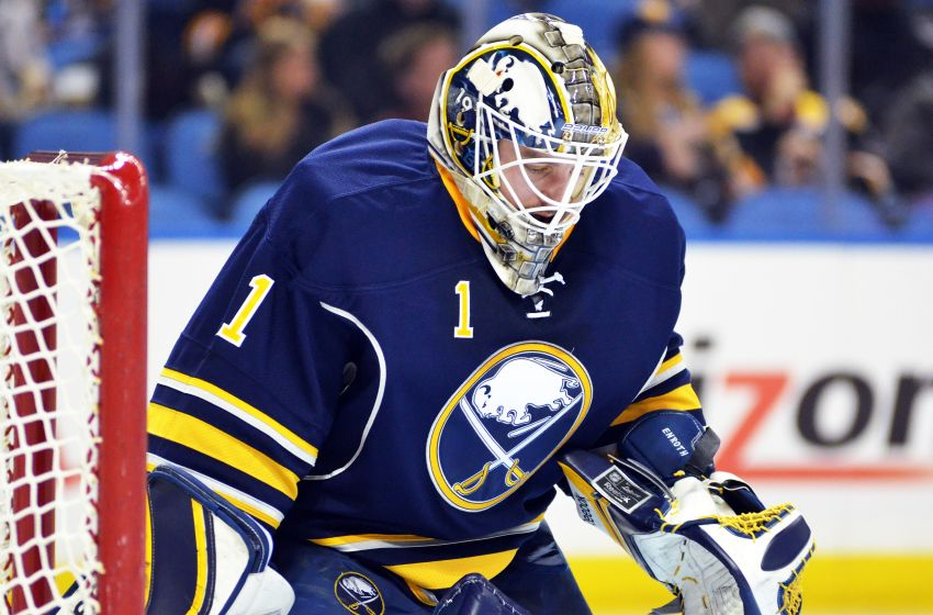 Sabres goalie Jhonas Enroth ready to seize starting job with Ryan Miller gone