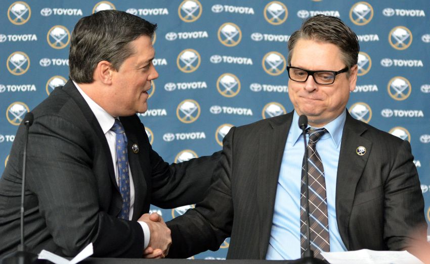 Stunner: Pat LaFontaine resigns from Sabres