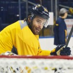 Sabres' Ville Leino OK after 'scary' migraine