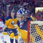 Injury to Sabres goalie Jhonas Enroth forces Nathan Lieuwen to make NHL debut in loss to Canadiens