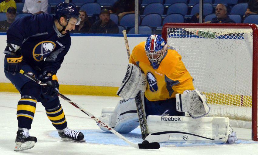 Sabres recall goalie Nathan Lieuwen from Amerks