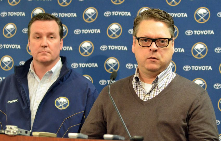 Ted Black insists Pat LaFontaine resigned from Sabres; Tim Murray wants to keep Ted Nolan
