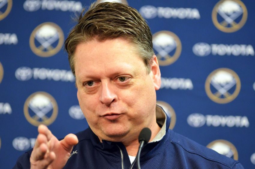 Sabres GM Tim Murray on trade deadline: 'It's a good day'