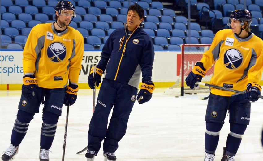 Respect shown to players helped Ted Nolan earn contract extension from Sabres: 'You don't want to let him down'
