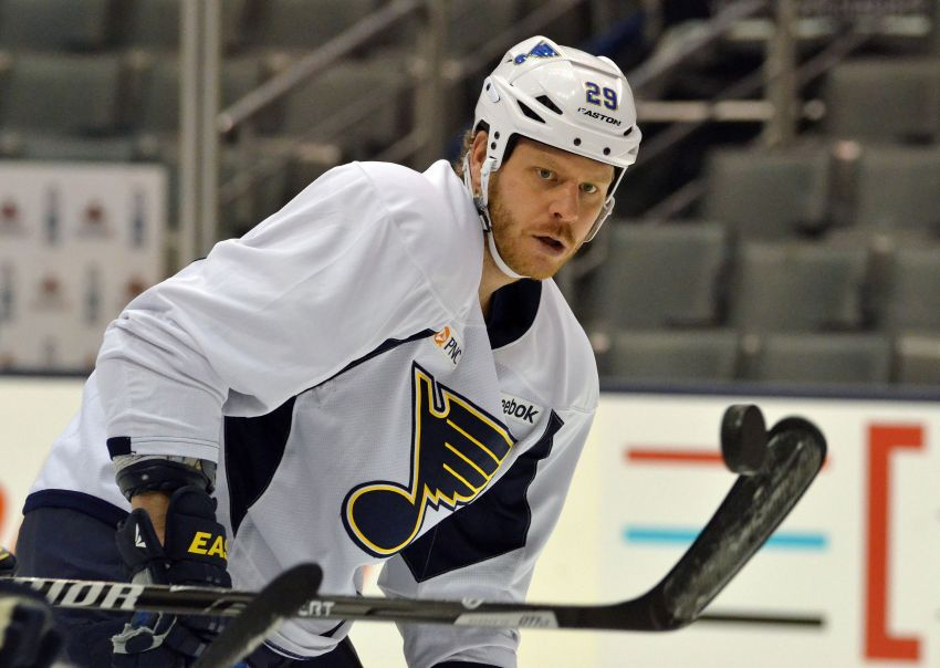 Blues' Steve Ott 'disappointed' Pat LaFontaine gone from Sabres, happy Ted Nolan likely staying