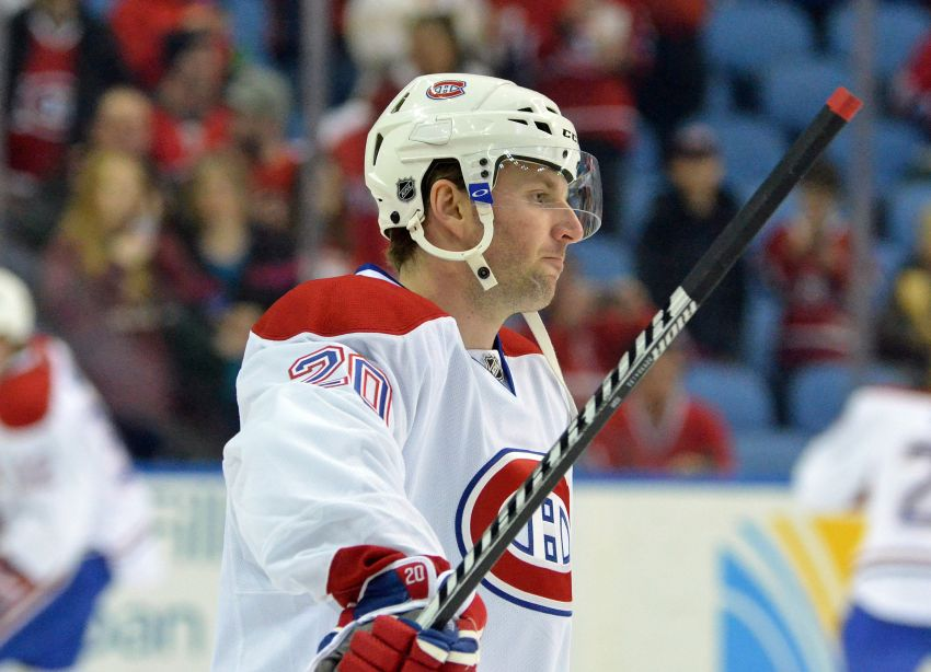 Former Sabres star Thomas Vanek happy to be with Canadiens after short Isles tenure