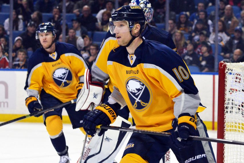 Christian Ehrhoff says he wants to stay with rebuilding Sabres after tough season