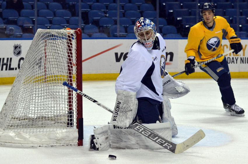 Sabres recall three from Amerks on emergency basis