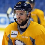 Sabres' Drew Stafford ready to play; Nick Deslauriers and Johan Larsson back with Amerks