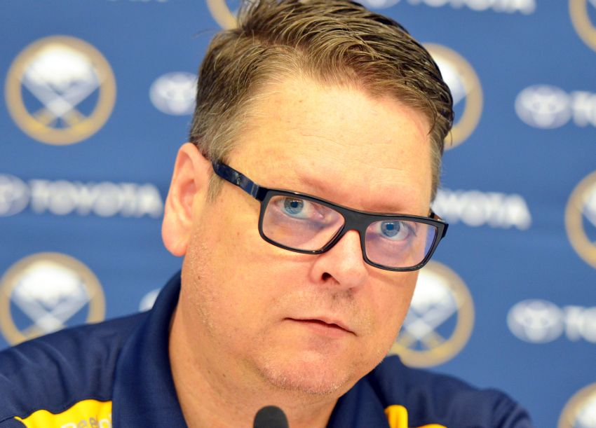 Sabres GM Tim Murray doesn't like possible lottery changes, wants to acquire veteran