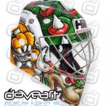 Check out Sabres prospect Linus Ullmark's Bowser mask
