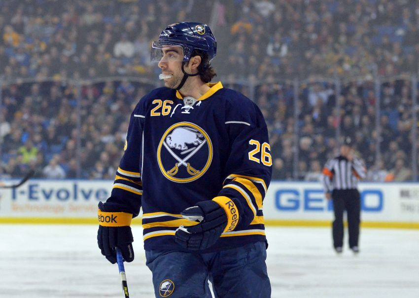 Sabres re-sign Matt Moulson, Cody McCormick and Marcus Foligno